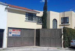 Foto de casa en renta en villas de san nicol?s , villas de san nicol?s, aguascalientes, aguascalientes, 6153829 No. 01