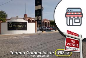 Foto de terreno comercial en venta en villas del mesón , villas del mesón, querétaro, querétaro, 14368748 No. 01