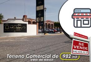 Foto de terreno comercial en venta en villas del mesón , villas del mesón, querétaro, querétaro, 0 No. 01