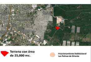 Foto de terreno habitacional en venta en  , villas del oriente, kanasín, yucatán, 17963495 No. 01