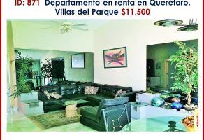 Foto de departamento en renta en villas del parque 11, villas del parque, querétaro, querétaro, 0 No. 01