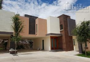 Foto de casa en renta en villas lomas 100, buena vista, durango, durango, 15064025 No. 01