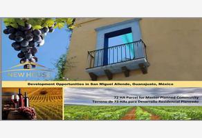 Foto de terreno comercial en venta en viñedo 000, san miguel de allende centro, san miguel de allende, guanajuato, 6161129 No. 01