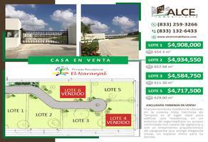 Foto de terreno habitacional en venta en  , vista hermosa, tampico, tamaulipas, 0 No. 01