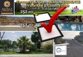 Foto de terreno habitacional en venta en  , vista real y country club, corregidora, querétaro, 14366378 No. 01