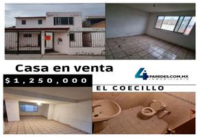 Foto de casa en venta en vivienda cooperativa 228, habitacional coecillo, león, guanajuato, 0 No. 01