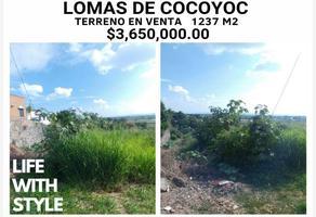 Foto de terreno comercial en venta en x x, lomas de cocoyoc, atlatlahucan, morelos, 12090708 No. 01