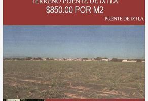 Foto de terreno comercial en venta en x x, norte, puente de ixtla, morelos, 0 No. 01