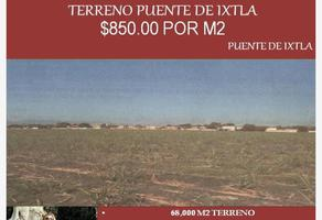 Foto de terreno comercial en venta en x x, puente de ixtla centro, puente de ixtla, morelos, 0 No. 01