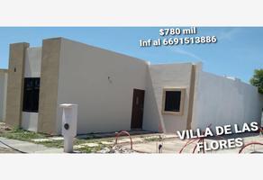 Foto de casa en venta en x x, villa de las flores, mazatlán, sinaloa, 0 No. 01