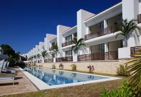 Foto de casa en condominio en venta en xaman ha , playa car fase ii, solidaridad, quintana roo, 6296342 No. 01