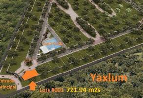Foto de terreno habitacional en venta en  , xcuyun, conkal, yucatán, 11735499 No. 01