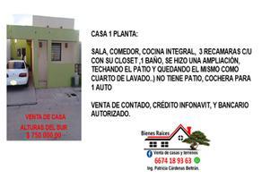Foto de casa en venta en xxx x, alturas del sur, culiacán, sinaloa, 17209777 No. 01