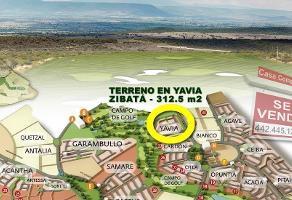 Foto de terreno habitacional en venta en yavia , desarrollo habitacional zibata, el marqués, querétaro, 0 No. 01