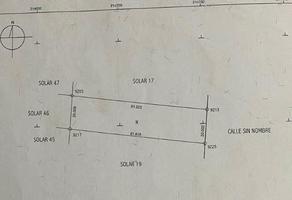 Foto de terreno habitacional en venta en  , yaxche de peón, ucú, yucatán, 14277893 No. 01