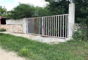 Foto de terreno habitacional en venta en  , yaxche de peón, ucú, yucatán, 15980255 No. 01