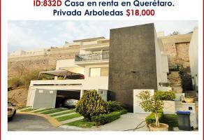 Foto de casa en renta en yuca 1, arboledas, querétaro, querétaro, 12792435 No. 01