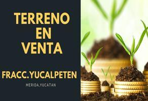 Foto de terreno habitacional en venta en  , yucalpeten, mérida, yucatán, 18574516 No. 01