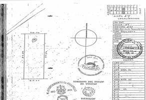 Foto de terreno industrial en venta en  , yucalpeten, progreso, yucatán, 15317104 No. 01