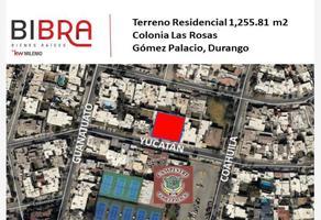 Foto de terreno habitacional en venta en yucatan 265, las rosas, gómez palacio, durango, 0 No. 01
