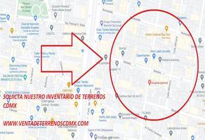 Foto de terreno habitacional en venta en zacahuitzco 30, zacahuitzco, benito juárez, df / cdmx, 0 No. 01