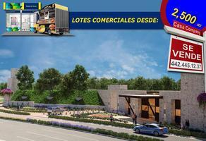 Foto de terreno comercial en venta en zakia , fraccionamiento piamonte, el marqués, querétaro, 14367158 No. 01