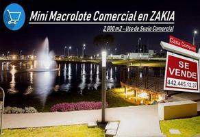 Foto de terreno comercial en venta en zakia , fraccionamiento piamonte, el marqués, querétaro, 14505684 No. 01