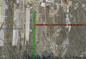 Foto de terreno habitacional en venta en  , zapaliname, saltillo, coahuila de zaragoza, 11710688 No. 01
