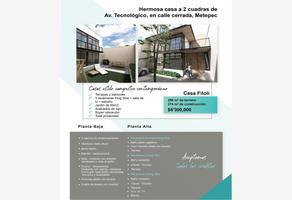 Foto de casa en venta en zaragoza 100, bellavista, metepec, méxico, 0 No. 01