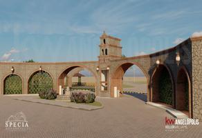 Foto de terreno habitacional en venta en  , zerezotla, san pedro cholula, puebla, 14246000 No. 01