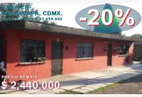 Foto de casa en venta en zona cero dos manzana 99lote 127 b, santa maria aztahuacan, iztapalapa, df / cdmx, 0 No. 01