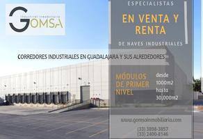 Foto de nave industrial en renta en  , zona industrial, guadalajara, jalisco, 14001764 No. 01