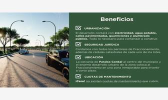 Foto de terreno habitacional en venta en ¡con lotes como este que te presentamos es muy fácil adquirir uno! 1, conkal, conkal, yucatán, 0 No. 01