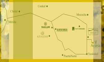 Foto de terreno habitacional en venta en 01 , yaxkukul, yaxkukul, yucatán, 0 No. 01