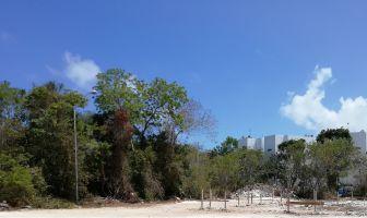 Foto de terreno habitacional en venta en Ejido, Tulum, Quintana Roo, 6613763,  no 01