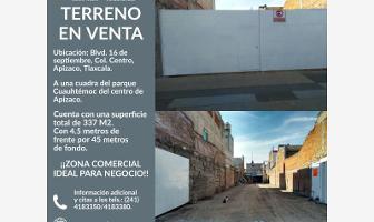 Foto de terreno habitacional en venta en 16 de septiembre 314, apizaco celulosa, apizaco, tlaxcala, 7509324 No. 01
