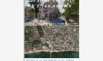 Foto de terreno comercial en venta en 1a. avenida sur esquina calle 25 centro colonia , playa del carmen, solidaridad, quintana roo, 9838982 No. 01