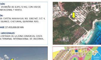 Foto de terreno comercial en venta en Mahahual, Othón P. Blanco, Quintana Roo, 6181005,  no 01