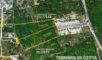 Foto de terreno habitacional en venta en 25 , dzitya, mérida, yucatán, 20343381 No. 01