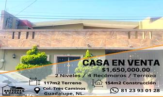 Foto de casa en venta en  , 3 caminos, guadalupe, nuevo león, 20179971 No. 01