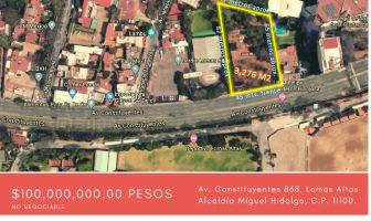 Foto de terreno comercial en venta en Bosque de Chapultepec II Sección, Miguel Hidalgo, DF / CDMX, 12283170,  no 01