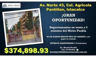Foto de departamento en venta en 43 43, agrícola pantitlan, iztacalco, df / cdmx, 12225679 No. 01