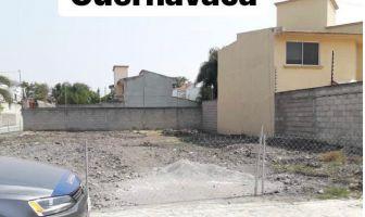 Foto de terreno habitacional en venta en José G Parres, Jiutepec, Morelos, 14423027,  no 01