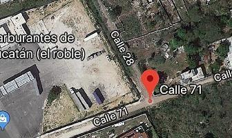 Foto de terreno habitacional en venta en 71 , el roble agrícola, mérida, yucatán, 5882040 No. 01