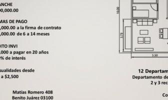 Foto de departamento en venta en Del Valle Centro, Benito Juárez, DF / CDMX, 19090446,  no 01