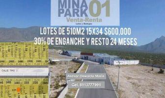 Foto de bodega en venta en Mina, Mina, Nuevo León, 19989362,  no 01