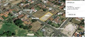 Foto de terreno habitacional en venta en Juriquilla, Querétaro, Querétaro, 6408392,  no 01