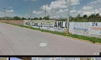 Foto de terreno habitacional en venta en calle 15 sur , acaxochitlán centro, acaxochitlán, hidalgo, 1926787 No. 01