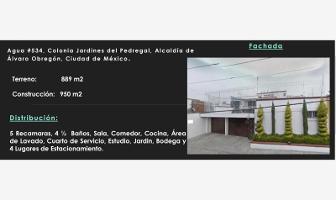 Foto de casa en venta en agua 534, jardines del pedregal, álvaro obregón, distrito federal, 0 No. 01