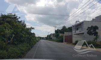 Foto de terreno habitacional en venta en  , álamos i, benito juárez, quintana roo, 15683656 No. 01